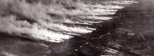 Un bombardeo químico típico durante la Primera Guerra Mundial