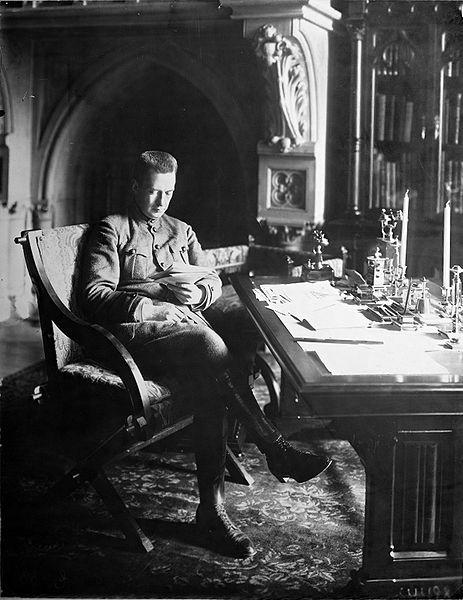 Alexander Kerensky, líder del Gobierno Provisional