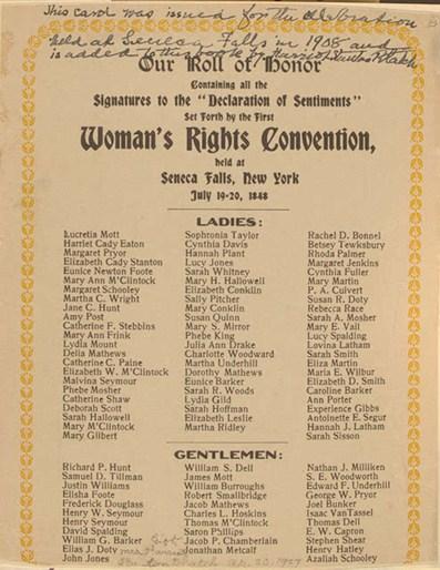 Relación de asistentes a la Convención