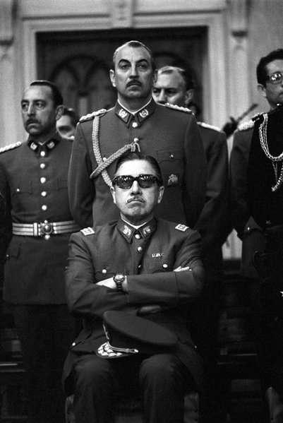 Augusto Pinochet y la Junta Militar, septiembre de 1973
