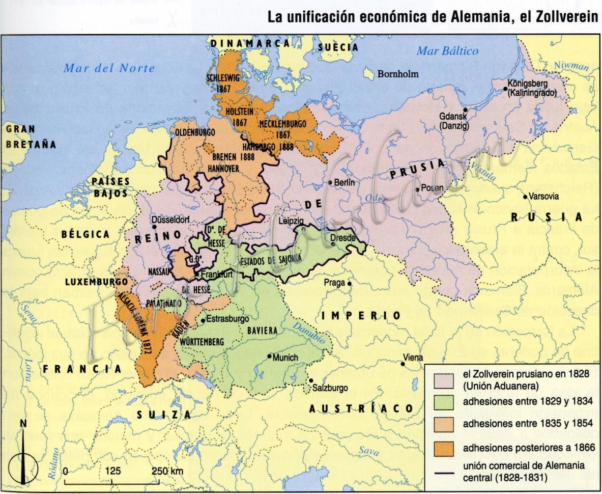 Mapa Codigos Postales Alemania