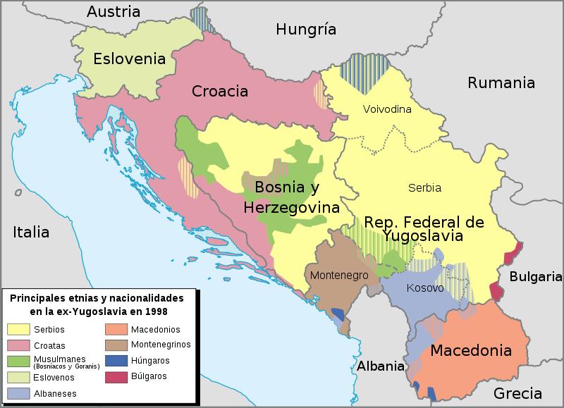Los problemas raciales en la antigua yugoslavia fuentes para la a gumiabroncs Choice Image
