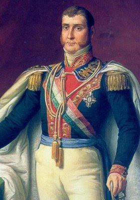 Duque Bersain: Retrato de Agustín de Iturbide
